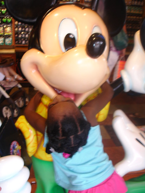 Mickey at Downtown Disney