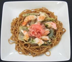 Shrimp Yakisoba - NRT-ICN