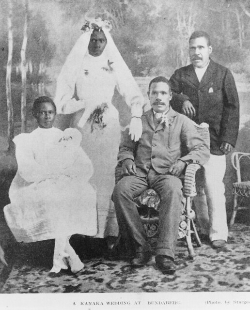 Australian South Sea Islander wedding in Bundaberg, Queensland, 1909