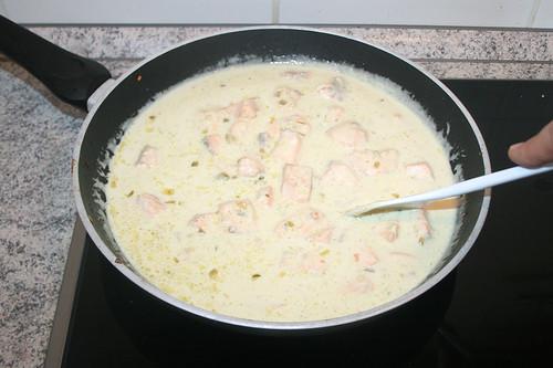 37 - Lachs hinzugeben / Add salmon