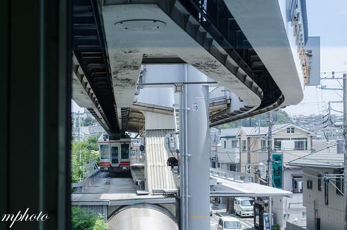 湘南單軌列車月台