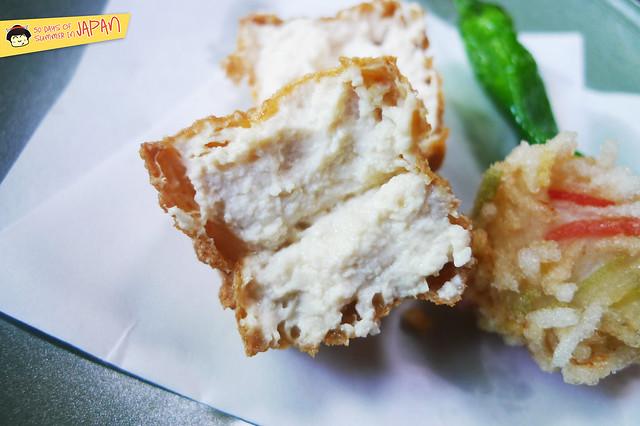 SASANOYUKI - tofu restaurant - kinuage - fried tofu 2
