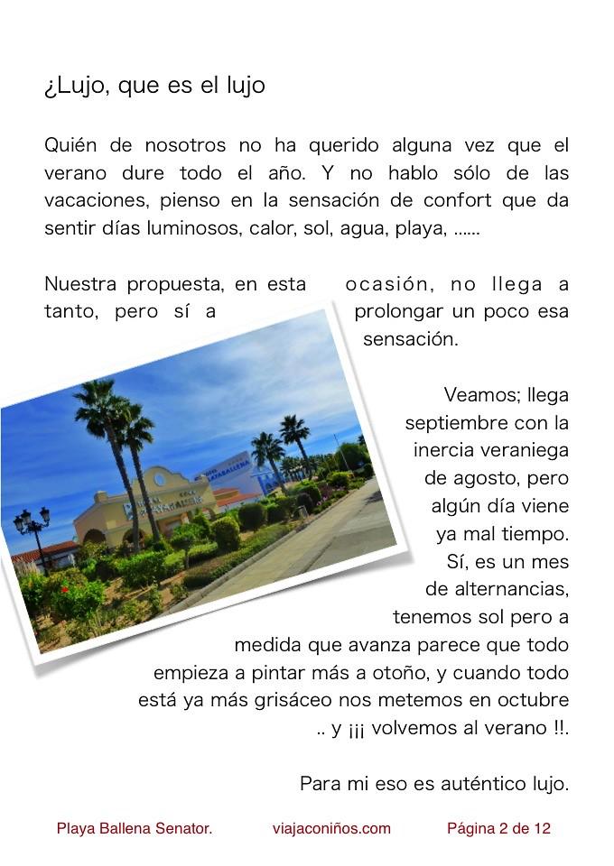 Playa Ballena Senator