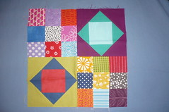 July Queen block - NewbeeBee - from Karen