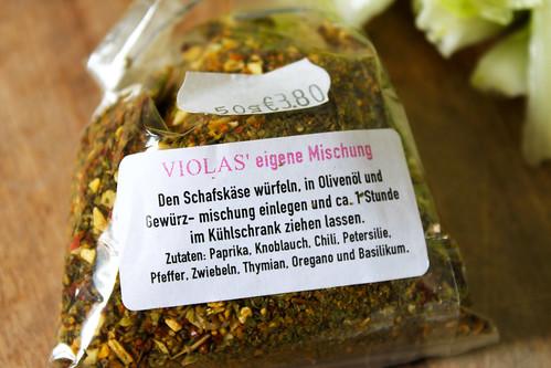 Schafskäse Gewürzmischung Viola's Hamburg