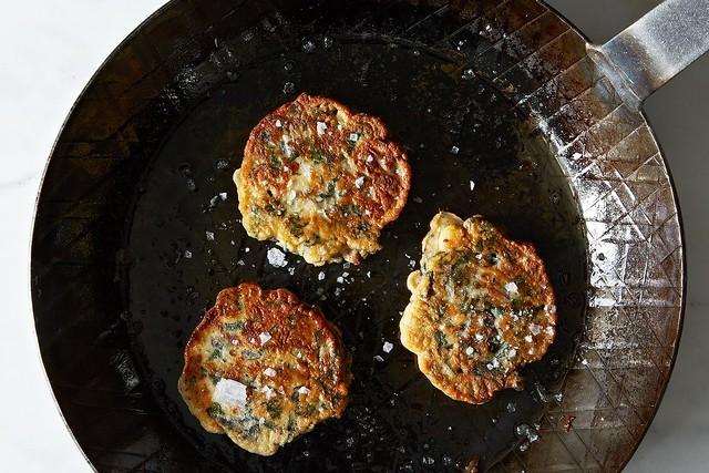 Green Pancakes on Food52