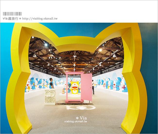 【高雄哆啦a夢展覽2013】來去高雄駁二藝術特區~找哆啦A夢旅行去!10
