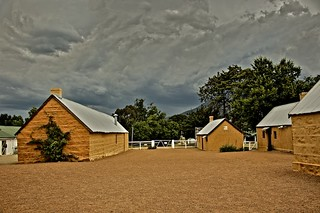 Storm descends over Lanyon Homestead Canberra AUS 2,000+ views