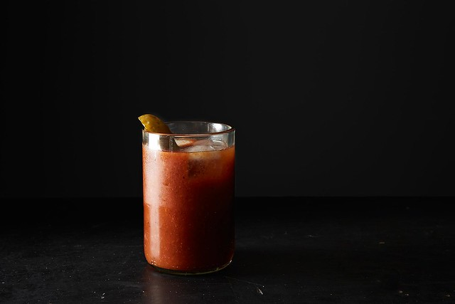 Pickle Juice Bloody Mary