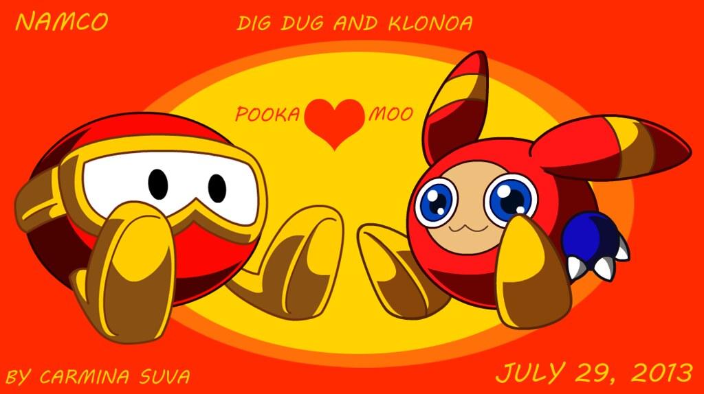 Dig Dug Pooka Plush 69644 Datamix