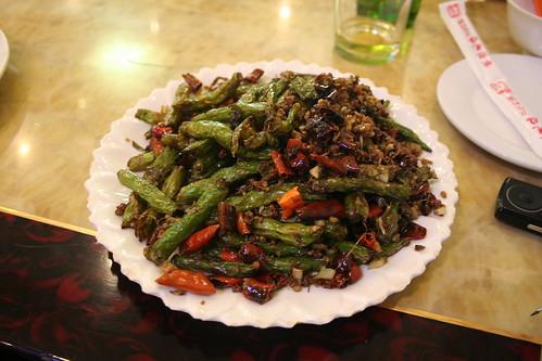 2011-11-25 - Beijing restaurant - 04 - Szechuan peppercorn beans