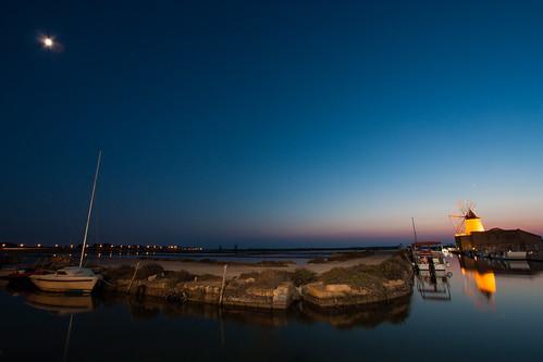sunset italy night canon calm clear sicily usm saline saltflats 1022 favignana marsala canonefs1022mmf3545usm stagnone 450d ettoreinfersa