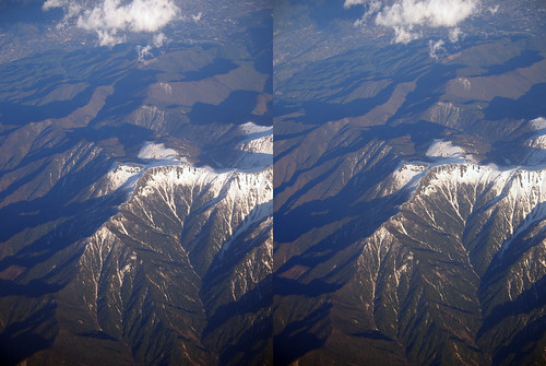 Mount Syogi-gashira, stereo parallel view