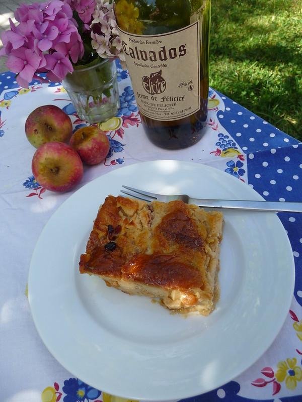Apple Bread Pudding