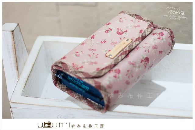 玫瑰防水布存摺包2