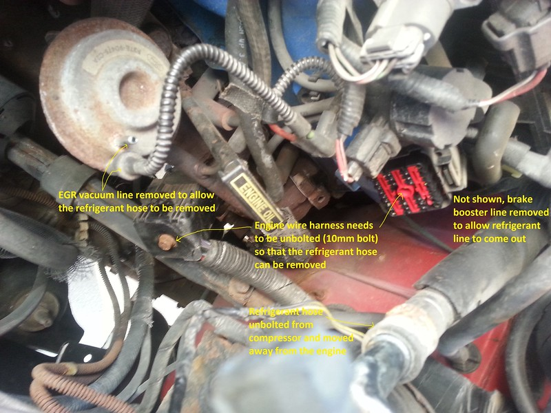 How To: Rebuild your A/C system - The Ranger Station Forums Feeler Gauge Wiring Harness Ford Ranger on