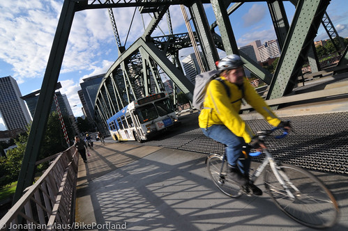 Hawthorne Bridge scenes-1
