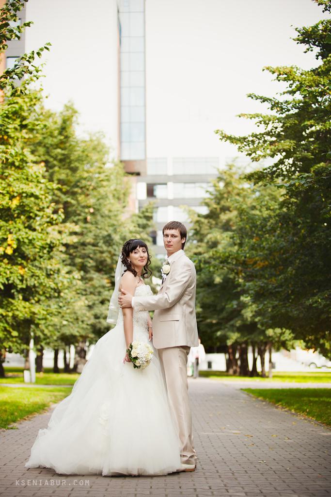 Свадебный день Олеси и Евгения