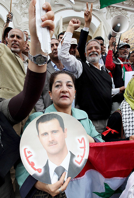 TUNISIA SYRIA PRO ASSAD