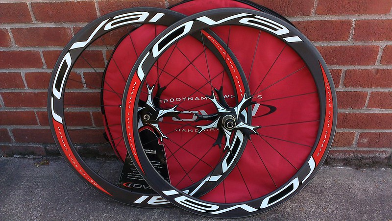 Roval rapide star carbon tubular wheelset NEW