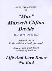 Maxwell Clifton Davids
