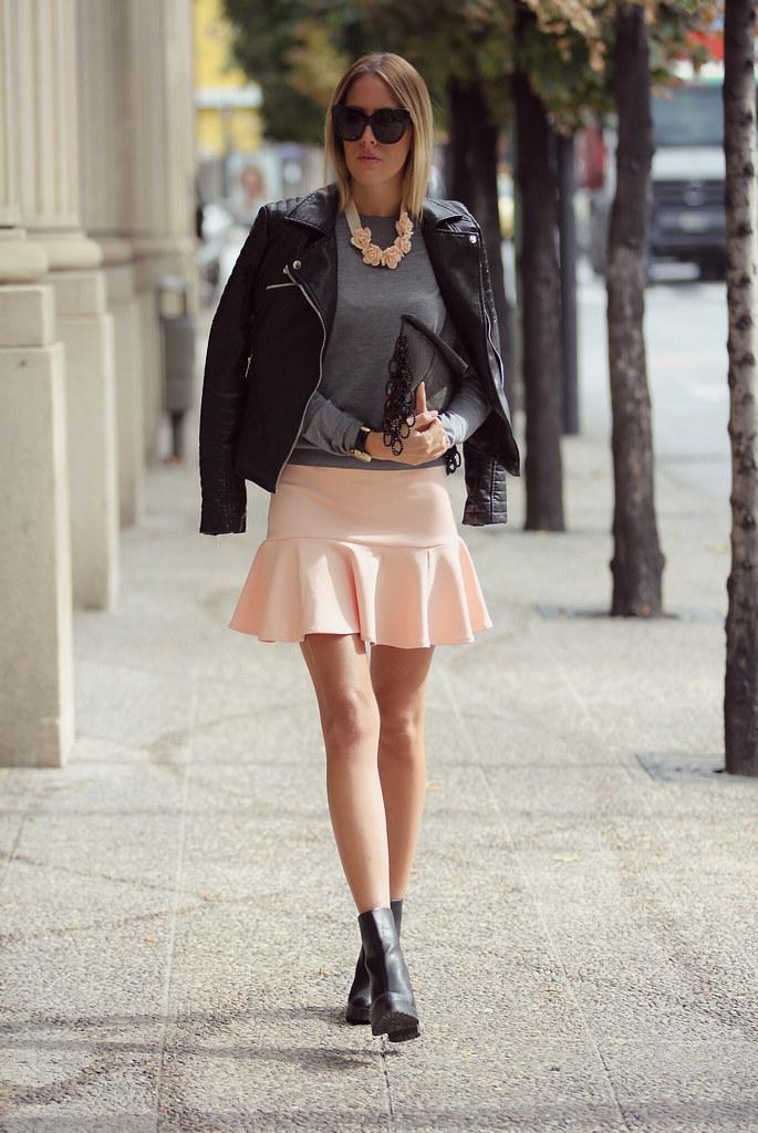 style lover pink skirt V