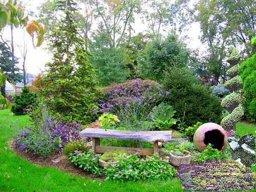 bahçe bitkisel düzenleme örneği - 2013-10-11 00:32:29