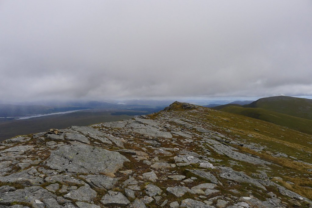 Summit ridge of Beinn Achaladair