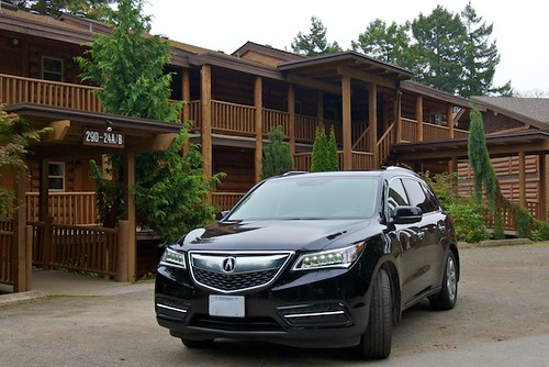 Acura MDX at Tigh-Na-Mara in Parksville