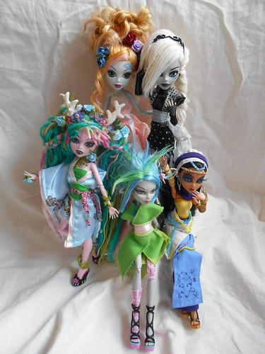 My 1-6 dolls