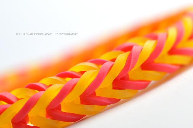 299/365: 10/26/2013. Rainbow Loom Bracelet!