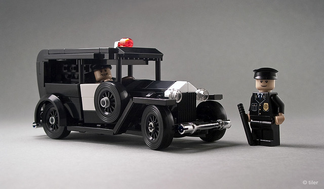 Lego 1930 Ford Model A – Police _03