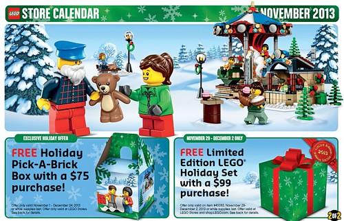 LEGO November 2013 Offers
