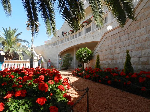 Хайфа, верхний вход в сады