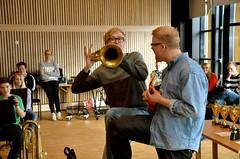 Lilla Brassbandfestivalen 2013 - Johannes Forsberg (bariton-horn) och Alexander Forsberg (Ukelele)