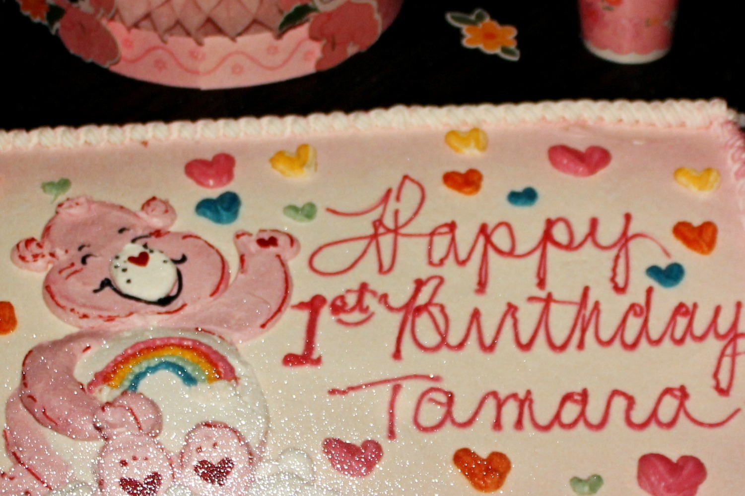 Tamara - Happy 1st Birthday Cake