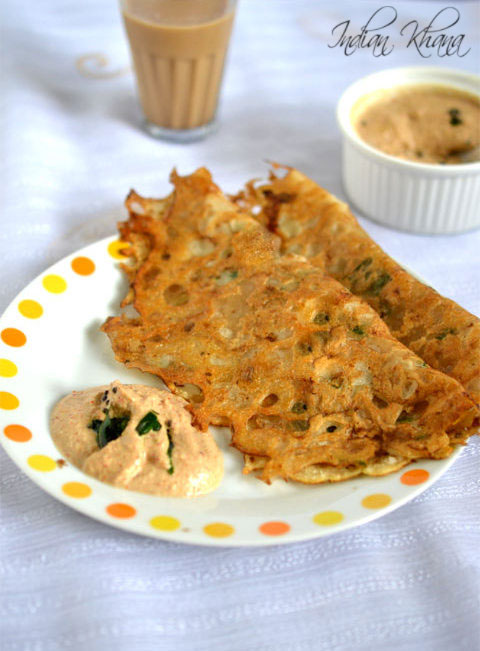 Instant rice flour dosa dosa recipes indian khana instant rice flour dosa recipe forumfinder