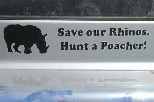 Message to all Rhino Pouchers