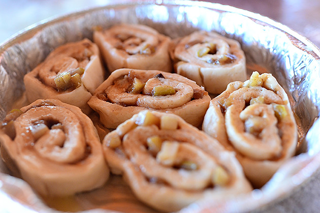 Caramel Apple Rolls