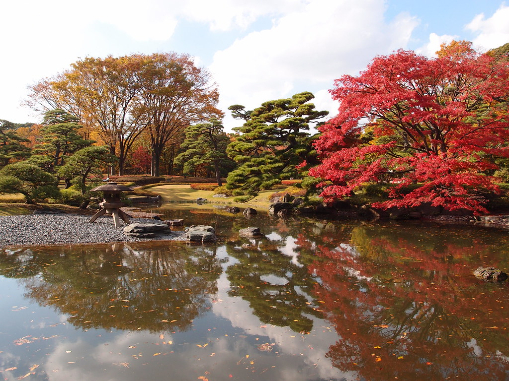 Fall foliage in the Imperial Palace East Garden - Truly Tokyo