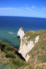 Views from Falaise Amont at Etretat