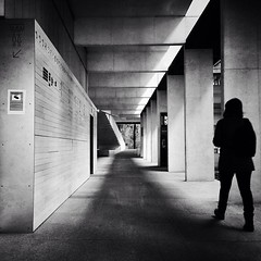 "The lines and shadows of the museum, Pontevedra, 2013. iPhone5.   SHOOTER MAG www.shootermag.com ""The World's First PhotoMobile Magazine"", published four times per year - to last a lifetime!  Follow @shootermag @shootermagazine Tag #shootermag #shootermag"