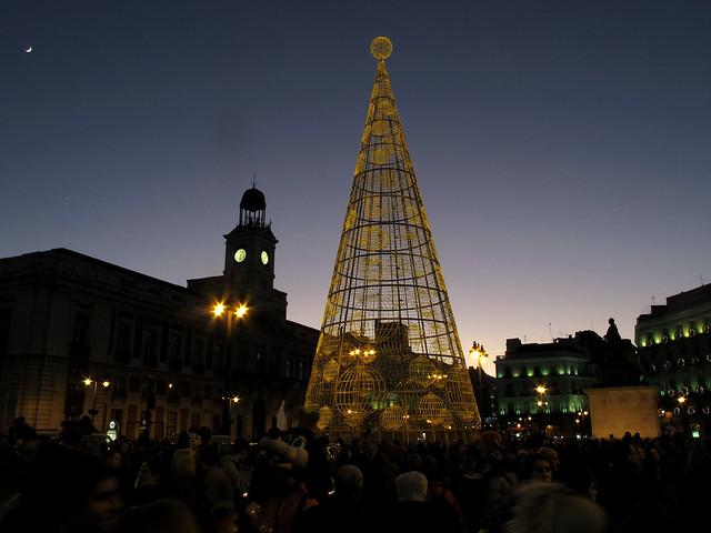 Arbol Navidad de Sol ( Vodafone)