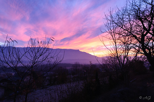 montagne alpes sunrise nikon sigma savoie leverdesoleil croixdunivolet d5000