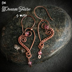 Pair of Hearts Earrings