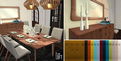 Alderan Dining Room - Mid Century