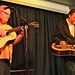 Jim Hurst and Rob Ickes at Abalone Hall in the Little River Inn
