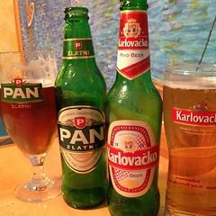 Sample all the #beer #croatia