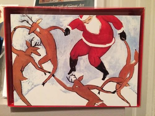 Matisse Santa card
