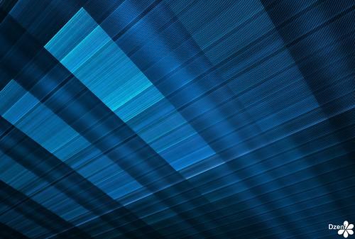 Blue Canvas Ceiling